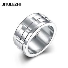 Women's titanium steel wedding rings Engagement jewelry couple rings Super Offer Wholesale Retail Not allergic direct deal(China)