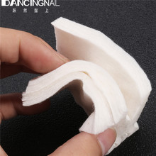 NEW White 180pcs Soft Nail Polish Remover Cleaner Cotton Free Nail Wipes Nail Art Tips Lint Pads Paper Salon Manicure Tools(China)