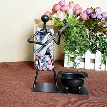 Special offer music the metal ashtray give gifts are a variety of optional creative gifts T310(China)