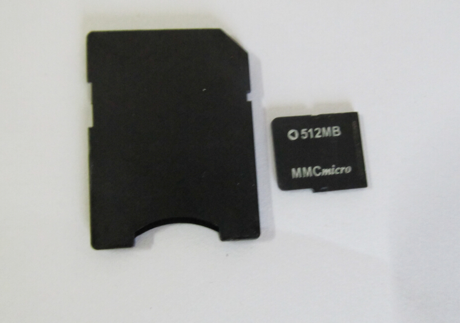MMCmicro Micro MMC CARD 512mb memory flash card Micro MMC CARD + adapter(China (Mainland))