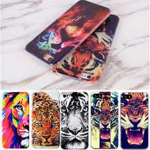 Fashion TPU Printing Pattern Phone Case For iPhone 5S 6S 7 5 SE Protective Cover Bags Shell Skin Animals For iPhone5 5S 6 6S 7(China)