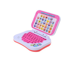 Kid Laptop Russian Language Learning Machine Learning Education Toys Computers Russian Alphabet Pronunciation Computer Hot Sale(China)