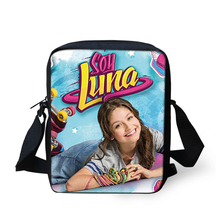 FORUDESIGNS Soy Luna Girl Messenger Crossbody Bag Princess Children Handbags TV Show Shoulder Bags Custom Made Bandolera Hombre(China)