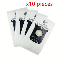 10 pieces Vacuum Cleaner Bags Dust Bag for Electrolux Vacuum Cleaner filter and S-BAG