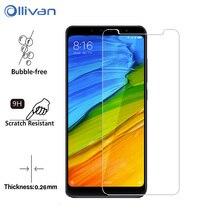 Tempered Glass XiaoMi Mi 8 Lite A1 A2 PocoPhone F1 Max 2 3 2.5D Screen Protector Glass Film XioMi RedMi 5A 6A Note 5 6 Pro