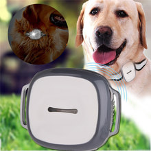 GPS Pet Tracker LED Light And Collar 2018 New Multi Function Dogs Collars Three-mode Positioning Electronic Fence Track Playback(China)