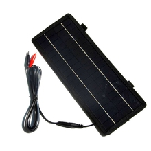 Big Sale Solar Cell Charger 4.5W 18V Portable Solar Panel Charger For 12V Car/Boat/Motor Battery Charger 3PCS/Lot Free Shipping(China)