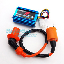 Racing CDI Ignition Coil For Dio Elite SA50 SB50 Spree SYM DD50 Arnada ATV Quad Moped Scooter Parts Motorcycle