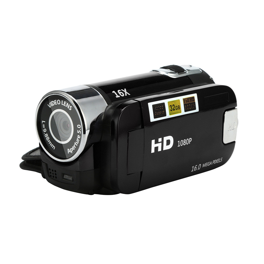 HD 1080P Digital Camera Video Camcorder HD 1080P Handheld Digital Camera 16X Digital Zoom 5