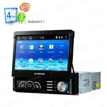 "7"" Android 5.1 OS Single Din Car Multimedia Player One Din Car Navigation GPS 1 Din Car Radio with Picture in Picture Support(China)"