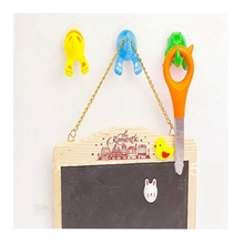 Cartoon Lovely Animal Tail Rubber Sucker Hook Key Towel Hanger Holder Hooks