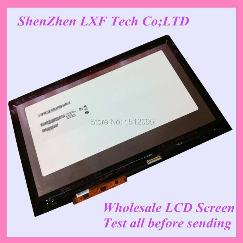 For Lenovo Yoga2 13 YOGA 2 13 lcd screen with touch digitizer Lcd assembly B133HAN02.0 LP133WF2 SP A1<br><br>Aliexpress