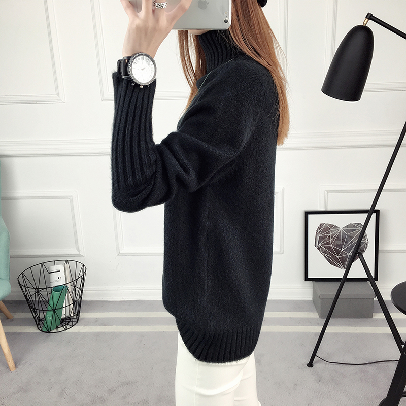 Winter Turtleneck Sweater, Women's 2017 New Design Thick Pullover 40