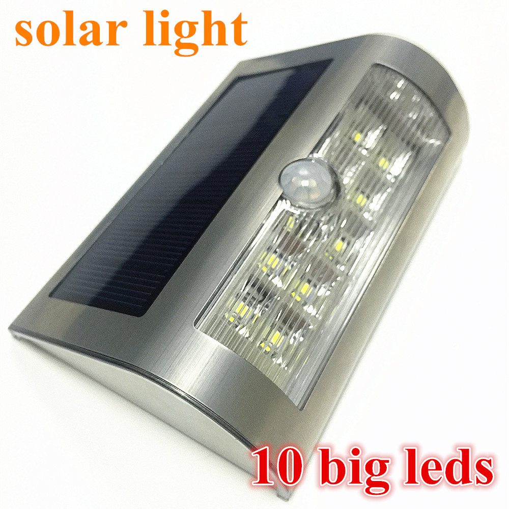 2016 NEWST 9 Big Leds Smd LED Solar Light Solar Powered Led Outdoor Light Wireless Waterproof IP65 with PIR Motion Sensor Light(China (Mainland))