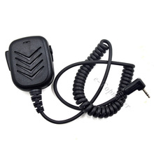 2.5mm Walkie Talkie Speaker Microphone Mic PTT for Motorola Radio TLKR T80 T60 T5 T7 T3 T4 Talkabout T5428 T5720 XTR446(China)