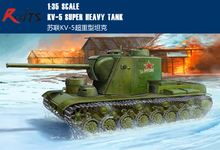 RealTS Trumpeter #05552 1/35 Russian KV-5 Super Heavy Tank(China)