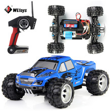 WLtoys A979 50KM/H Racing Car 4WD Remote Control RC Car 1:18 Scale High Speed Truck Stunt Supper Power Off-Road Vehicle 2.4G ~