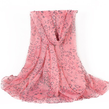 Wholesale Women Female Fashion Scarf Lady Flower Skull Scarves Cash All-match Pashmina 180*105cm No.040202040