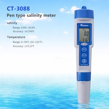 Digital Waterproof Salt Meter Range 0.0%To 10.0% Aquarium Water Quality Salt Pool Tester Pen Type Salinity Tester Salinometer(China)