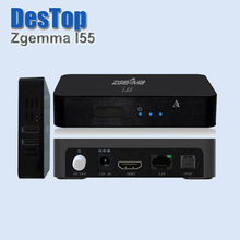 1pcs Zgemma Star i55 Satellite Receiver Linux Operating System 2000 DMIPS CPU PROCESSOR 256MB NAND Flash/512MB DDR3 HDMI by DHL