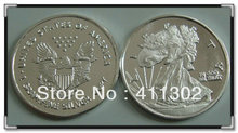 10pcs/lot.999 pure solid silver 1gram USA  libery bullion Coin, silver dollar coins ,Free shipping