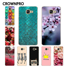 CROWNPRO A5 2016 FOR Samsung Galaxy A5 2016 Case Cover A510 A510F A5100 Printing Phone Back Protector FOR Samsung A5 2016 Case