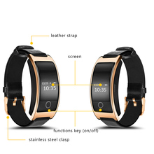 OLED surface intelligent hand ring smart band bracelet fitness 2017 bluetooth waterproof for iPhone samsung xiaomi huawei etc(China)