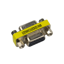 SHCHV Female to Female VGA HD15 Pin Gender Changer Convertor Adapter For Computer