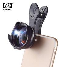 APEXEL phone camera Lens 2.5X telephoto zoom lens Professional HD Portrait bokeh lente for iPhone lensXiaomi more telephone 70mm(China)
