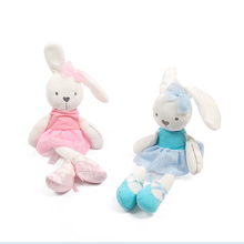 42cm  Baby Toys Rabbit Sleeping Comfort Doll Plush Toys Mamas&Papas Smooth Obedient Rabbit Sleep Calm Doll Birthday Gifts