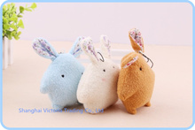 40PCS Cute Pearl Rabbit 8*6CM DOLL Plush Stuffed TOY  - Phone Charm Strap Lanyard Pendant  BAG Key Chain