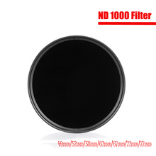 ND Filter ND1000 Neutral Density Filtors 49MM 52MM 55MM 58MM 62MM 67MM 72MM 77MM Photography for Canon Nikon Sony Camera(China)