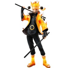Anime Naruto Shippuden PVC Collection Uzumaki Naruto Six Fairy PVC Action Figure Model NO RETAIL BOX(Chinese Version)(China)