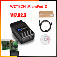 Original witech MicroPod II software V17.02.3 update online For Chrysler/Dodge/Jeep/Fiat diagnostic tool(China)