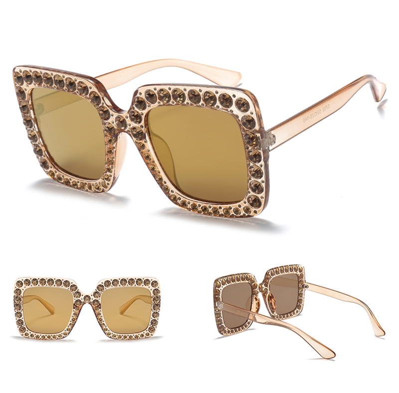 rhinestone sun glasses for women luxury brand 7080 details (7)