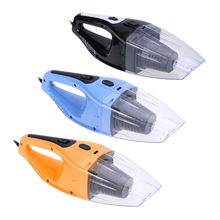 120W Portable Car Vacuum Cleaner Wet And Dry Dual Use Automobiles Cigarette Lighter Hepa Filter 12V 3 Colors(China)