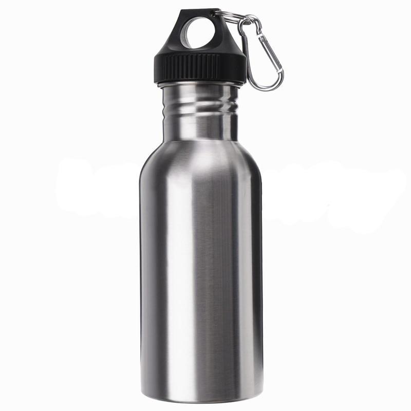 Taza de Viaje FEIJIAN Botella de Agua Deportiva de 17 onzas Campamento Botella de Ciclismo Termo para Bebidas al Aire Libre Termo Deportivo Termo de Senderismo con mosquet/ón