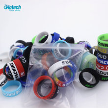 Buy Glotech 5pcs/10pcs concave silicone rubber band vape ring 22mm mechanical mod decorative protection rubber band 18650 for $2.07 in AliExpress store