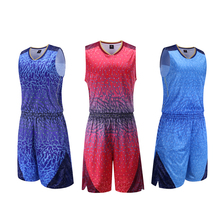 Adsmoney Hot Design Chinese Clouds Spots Pattern Basketball jersey&shorts school team compeition uniforms sets suit tracksuit
