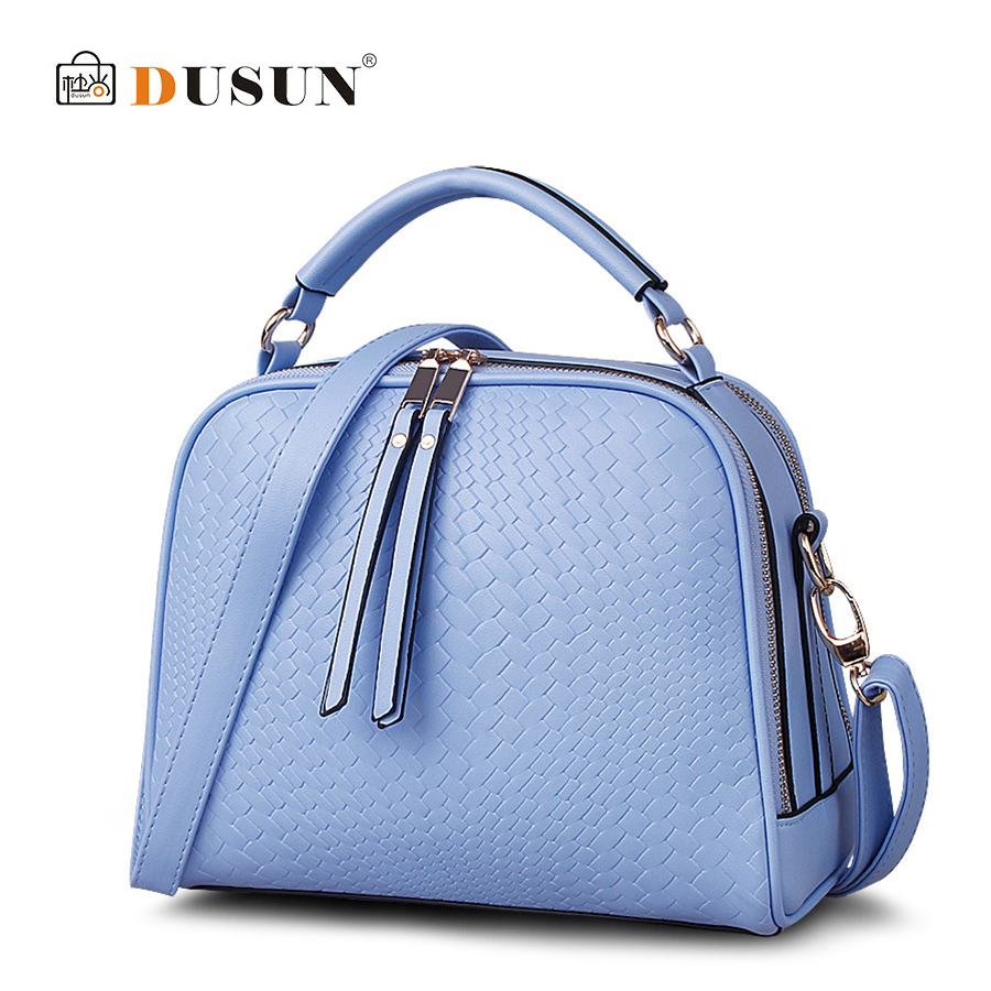 DUSUN Luxury Handbag Woman Messenger Fashion Women Bag Famous Design Braided pattern Handbags Feminina Shoulder Bag Casual Tote<br><br>Aliexpress