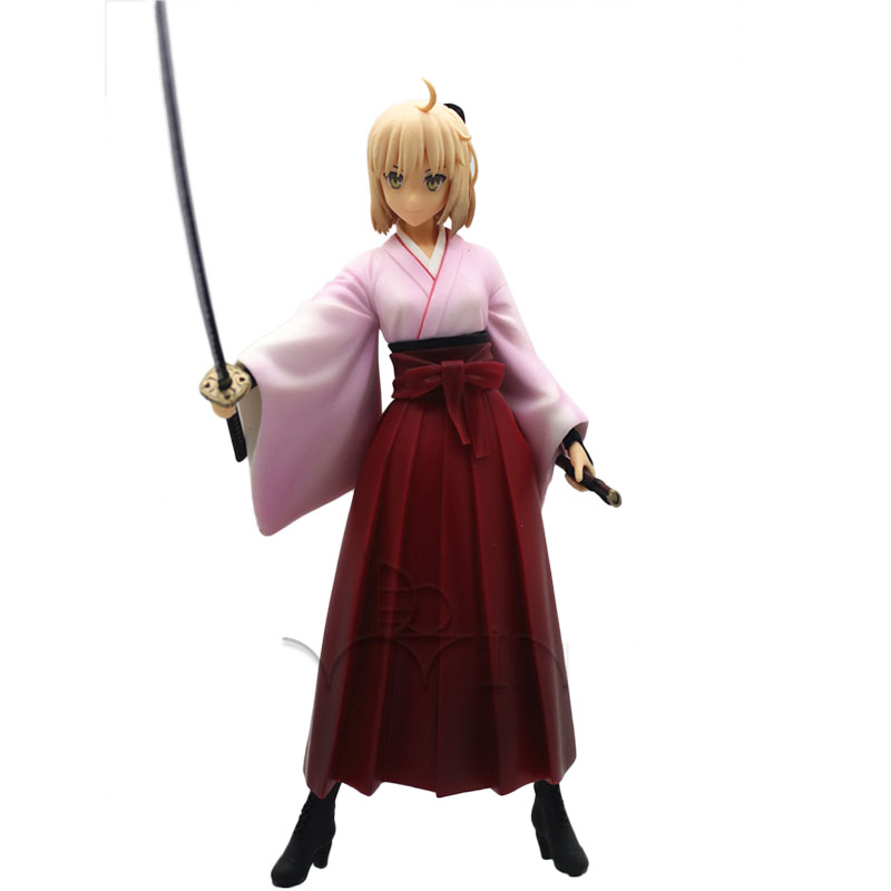 Fate Grand Order kimono Saber Lily figure<br>