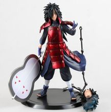 Naruto Madara Uchiha PVC Action Figure Model Toys Collective Doll Box 8 inch20cm - IWinner Store store