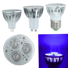 1Pc 3W UV Ultraviolet LED Bulb E27 GU10 MR16 Purple Light Lamp 85-265V 12V hot(China)