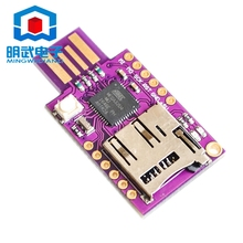 Buy TF MicroSD Micro SD Card Slot Badusb USB Virtual Keyboard ATMEGA32U4 Module Arduino Leonardo R3 Bad Usb CJMCU for $10.60 in AliExpress store