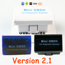 V2.1 OBD2 Code Reader Super MINI ELM 327 Car Scanner ELM327 OBDII Bluetooth Cheapest Auto Adapter