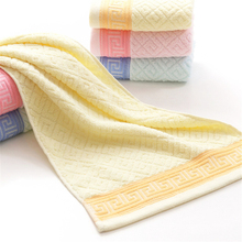 33*74cm Jacquard Cotton Terry Hand Towel,Solid Decorative Elegant Embroidered Pink blue Bathroom Hand Towels,Face Hand Towels