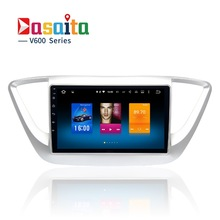 Car 2 din Android GPS Navi for hyundai solaris 2017 verna I25 autoradio navigation head unit multimedia Player 2Gb+32Gb PX5 RDS(China)