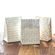 9 sets paper bag have fun design gift packaging birthday party candy holding