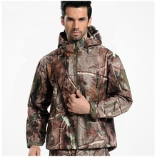 New 2016 TAD Gear Tactical Softshell Camouflage Outdoor HIiking Jacket Men Army Sport Waterproof Hunting Clothes Military Jacket(China)