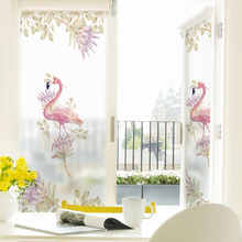 Stained Static Cling Window Film Frosted Privacy Glass Sticker Home Decor Digital print BLT1160 Literature and Art Agitation(China)